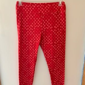 LulRoe Valentine's Day leggings - TC
